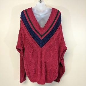 croft & barrow Sweaters - Croft & Barrow Cricket V-Neck Sweater